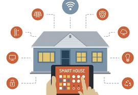 Internet de la cosas Amazon Alexa y seguridad en el hogar.